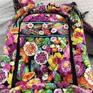 Vera Bradley Laptop Backpack Floral